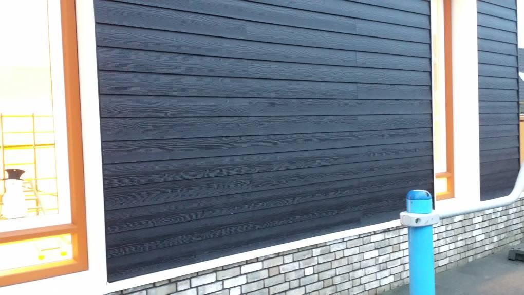 Eternit Sidings Cedral kan gemonteerd worden door Keppelink uw specialist in gevelbekleding